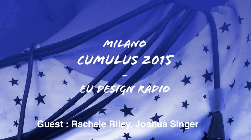 LIVE Interview on EU Design Radio