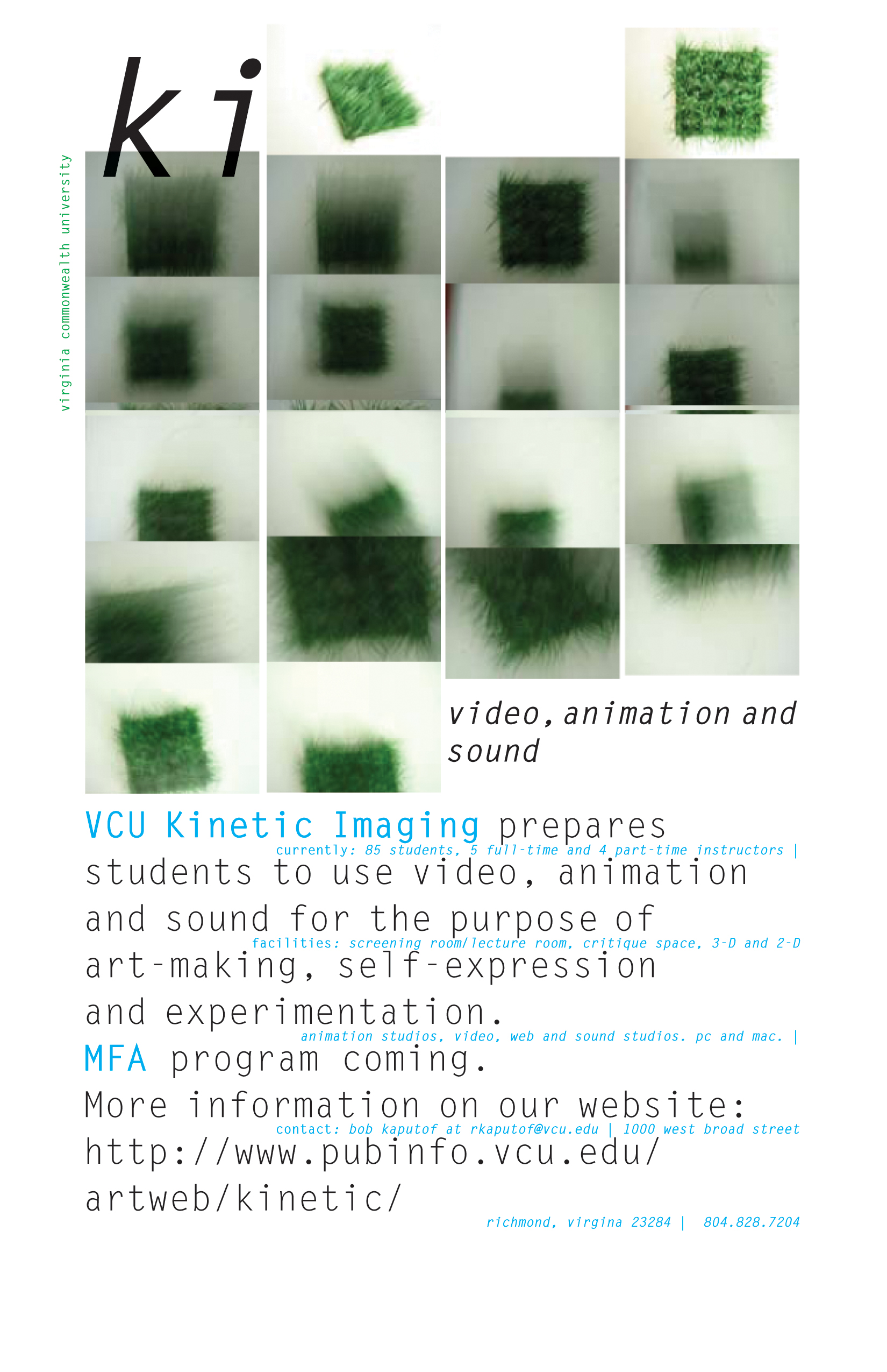 VCUArts Kinetic Imaging
